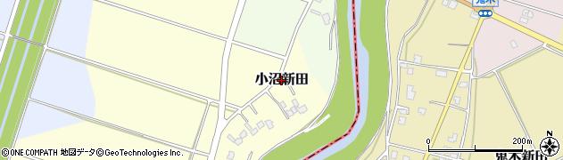 新潟県長岡市小沼新田周辺の地図