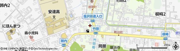 株式会社フクシマ建設周辺の地図