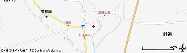 福島県二本松市針道(町)周辺の地図