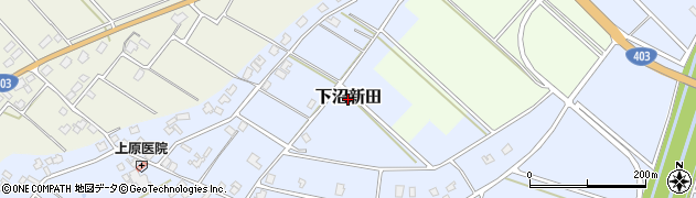 新潟県長岡市下沼新田周辺の地図
