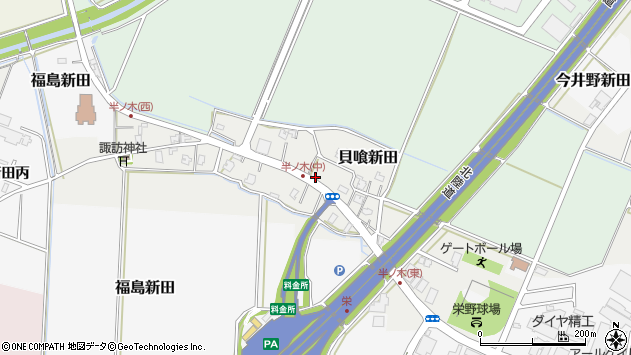 〒959-1147 新潟県三条市岡野新田の地図