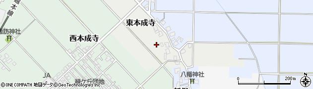 新潟県三条市枝郷周辺の地図