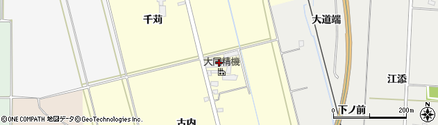 太陽産業株式会社周辺の地図