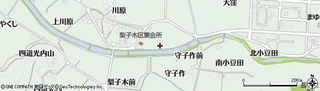 福島県二本松市油井(下川原前)周辺の地図