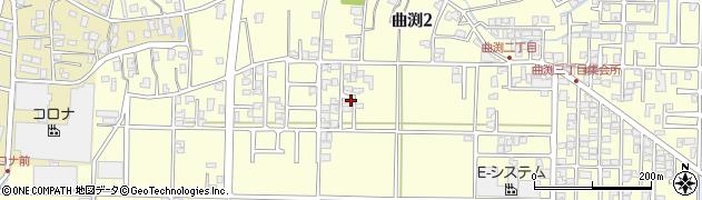 新潟県三条市曲渕周辺の地図