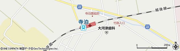 新潟県長岡市周辺の地図