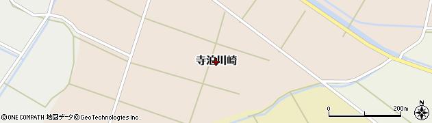 新潟県長岡市寺泊川崎周辺の地図