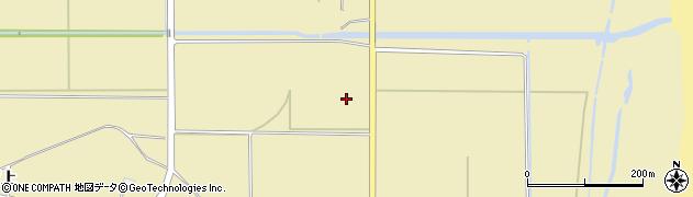 福島県南相馬市原町区萱浜西田周辺の地図