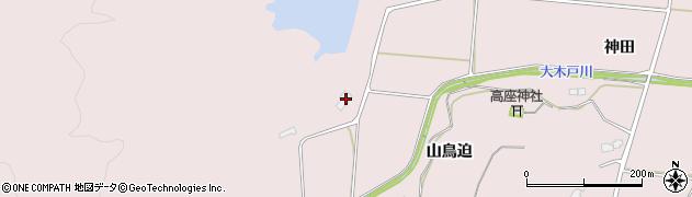 福島県南相馬市原町区押釜大谷地周辺の地図