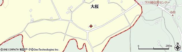 福島県福島市松川町下川崎(発田)周辺の地図