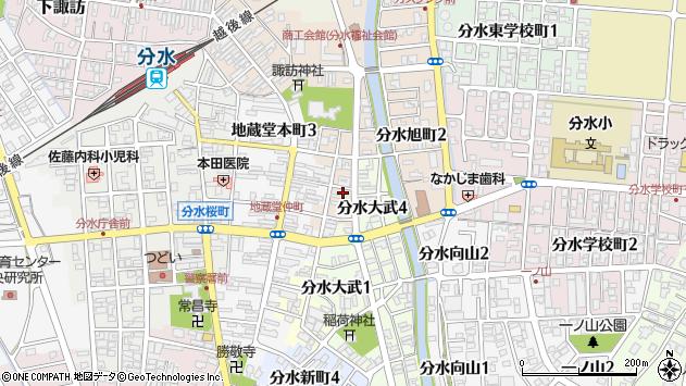 〒959-0107 新潟県燕市分水旭町の地図