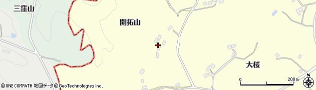 福島県福島市松川町下川崎(和尚壇山)周辺の地図