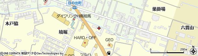 トビヌケつり具 原町店周辺の地図