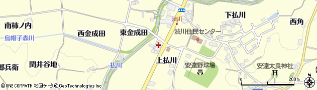 日本同盟基督教団 二本松福音の家教会周辺の地図