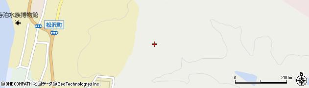 新潟県長岡市寺泊横掛周辺の地図