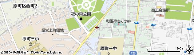 社会民主党 相馬総支部周辺の地図