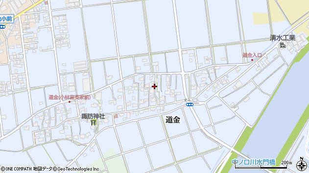 〒959-1265 新潟県燕市道金の地図