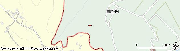 福島県二本松市下川崎(裁前山)周辺の地図