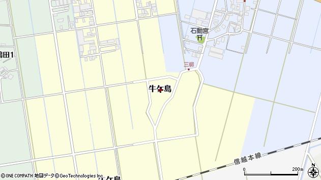 〒955-0016 新潟県三条市牛ケ島の地図