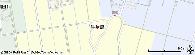 新潟県三条市牛ケ島周辺の地図