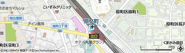 福島県南相馬市周辺の地図