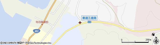 新潟県長岡市寺泊烏帽子平周辺の地図