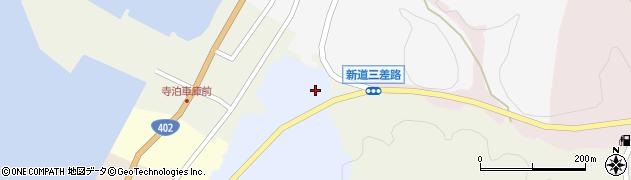 新潟県長岡市寺泊香清水周辺の地図