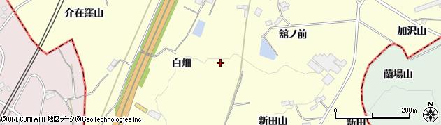 福島県福島市松川町下川崎(七窪)周辺の地図