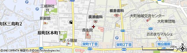 えの整骨院周辺の地図