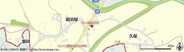 福島県福島市松川町下川崎(下田)周辺の地図