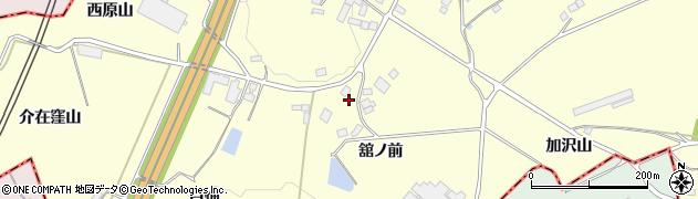 福島県福島市松川町下川崎(舘ノ前)周辺の地図