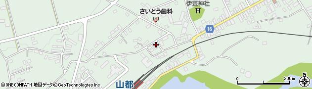 株式会社齋藤興業 山都営業所周辺の地図