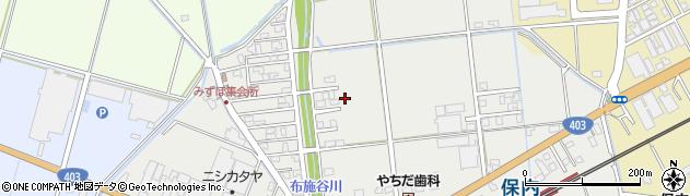 新潟県三条市みずほ周辺の地図