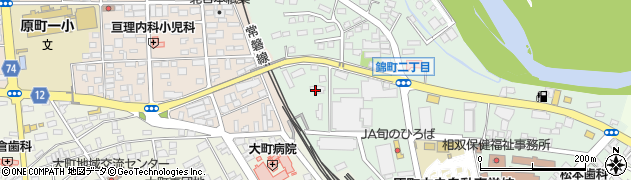 東北電力寮周辺の地図