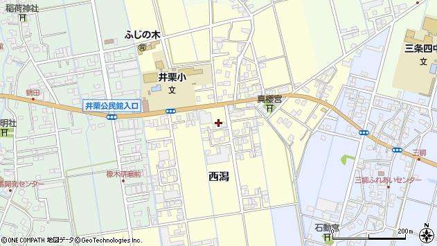 〒955-0014 新潟県三条市西潟の地図