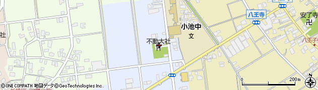 不動大社周辺の地図