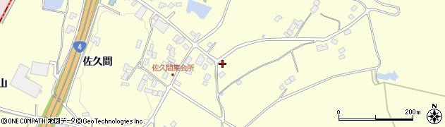 福島県福島市松川町下川崎(下ノ原)周辺の地図