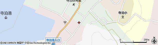 新潟県長岡市寺泊上田町周辺の地図