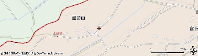 福島県二本松市吉倉(上延命)周辺の地図