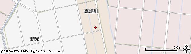 新潟県三条市嘉坪川周辺の地図
