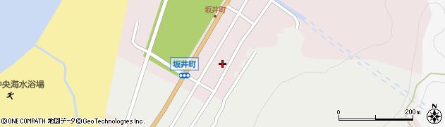 新潟県長岡市寺泊坂井町周辺の地図