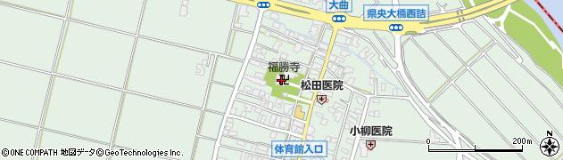 福勝寺周辺の地図