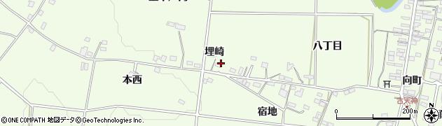 福島県福島市松川町(埋崎)周辺の地図