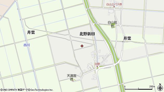 〒955-0012 新潟県三条市北野新田の地図