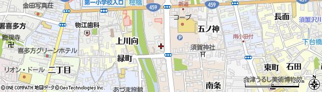 鈴木建築周辺の地図