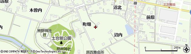 福島県福島市松川町(沼内)周辺の地図