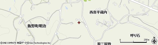 福島県福島市飯野町明治(カゲロー)周辺の地図