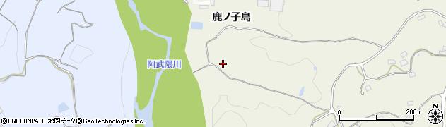 福島県福島市飯野町明治(上大山田)周辺の地図