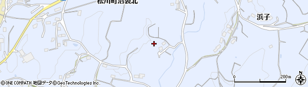 福島県福島市松川町沼袋(北)周辺の地図