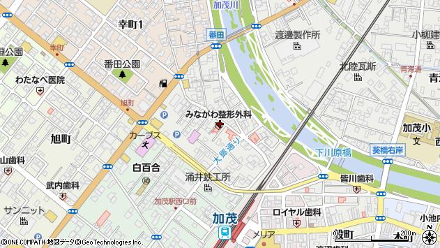 〒959-1314 新潟県加茂市番田の地図